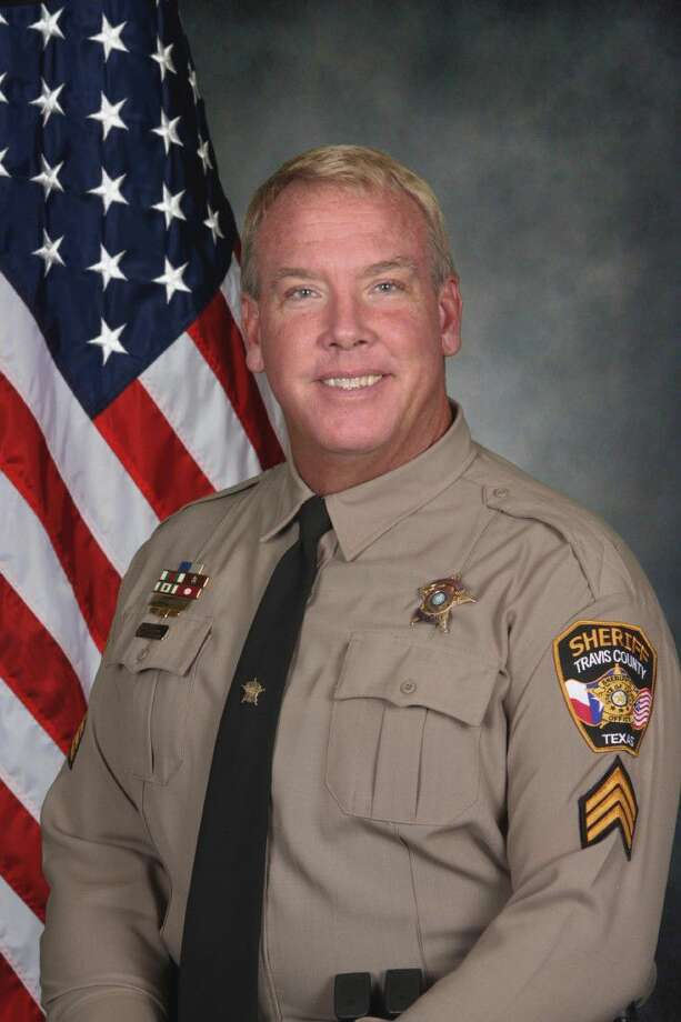 This file photo provided by the Travis County Sheriff's Office, shows Sgt. Craig Hutchinson, who was found dead Monday in Round Rock. Photo: HOGP
