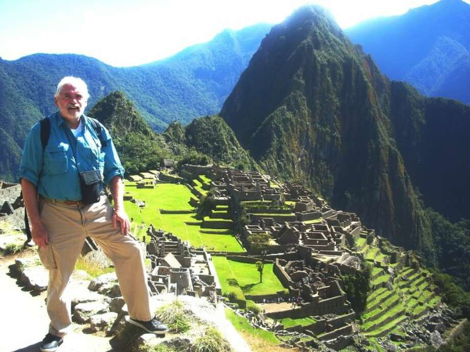 Author Gary Taylor above Machu Picchu in 2012. Taylor, a former Houston Post reporter, is guest speaker at the February meeting of the Bellaire Historical Society.