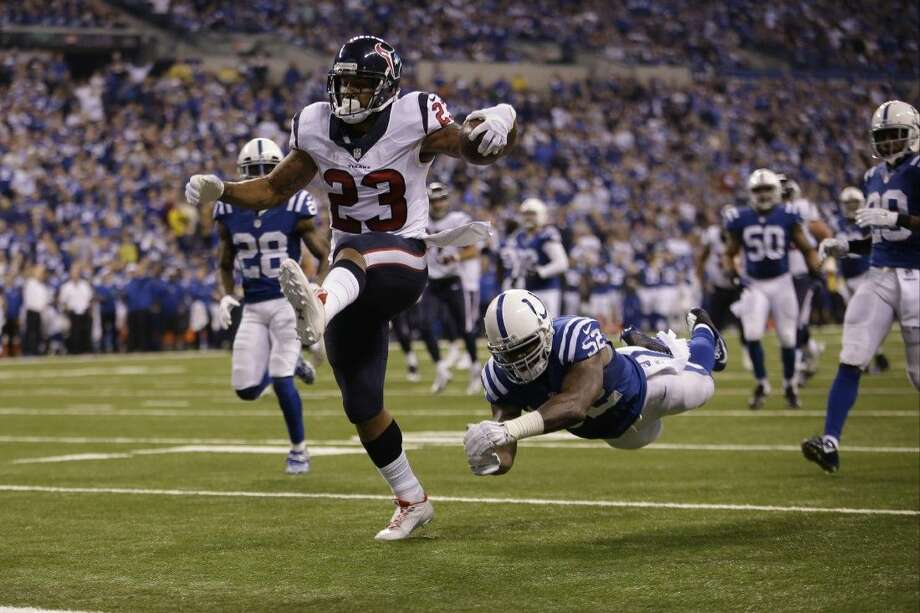Running back Arian Foster and the Houston Texans need to win their final two regular-season games to have a chance at making the playoffs.