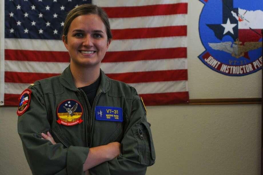 Ensign Maddie Buck (photo courtesy U.S. Navy)