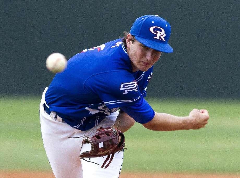 Oak Ridge pitcher Tyler Davis recently committed to Wichita State.