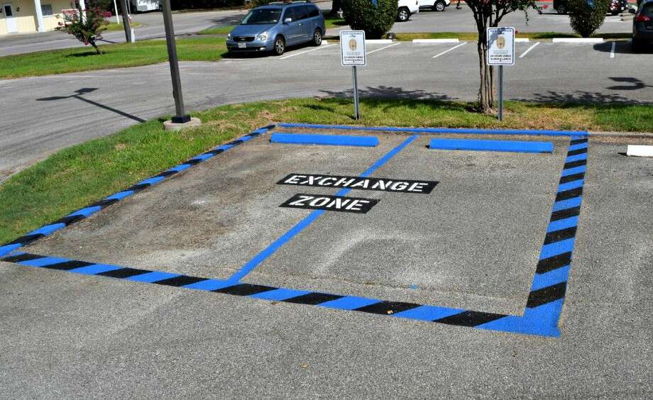 he Tomball Police Department has initiated a new community policing program called a Safe Exchange Zone. Photo: Submitted Photo