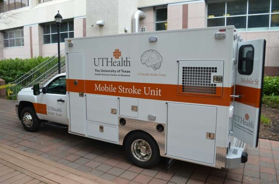 This specialized mobile stroke unit is part of a three-year clinical trial at UTHealth to test whether patient outcomes and costs are improved with faster delivery of treatment using clot-busting medication. The unit was engineered by Bellaire-based Frazer Ltd.
