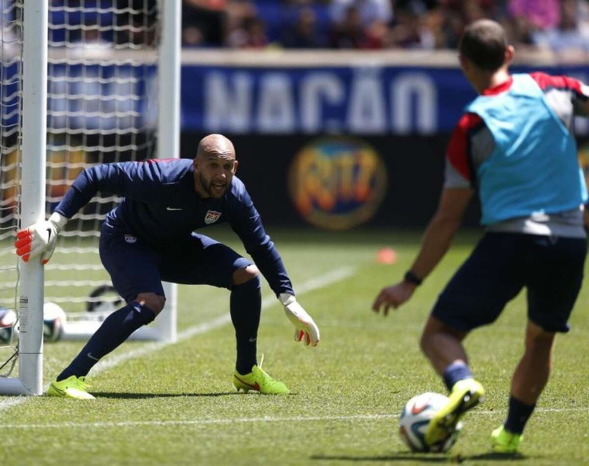 Goalkeeper Tim Howard has long been a mainstay for the United States national team.