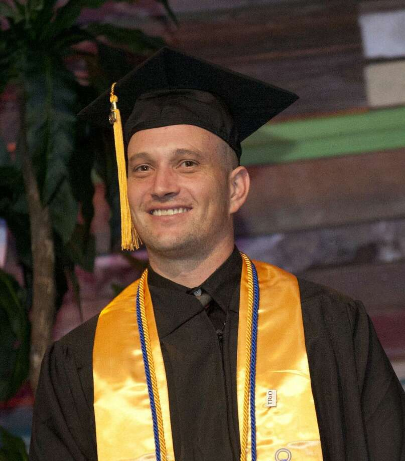 Lone Star College-Tomball graduate Gerald Hallford recently received the prestigious Terry Foundation Transfer Scholarship to pursue further study at the University of Houston where he plans to study counseling. Photo: Submitted
