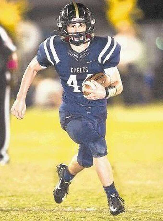 Second Baptist linebacker/running back John Hildreth was one of three Eagles selected for the Touchdown Club of Houston private school preseason team. The Eagles finished 6-5 last year including a postseason appearance and a share of the district title. Photo: Kevin B. Long/GulfCoastShots.com
