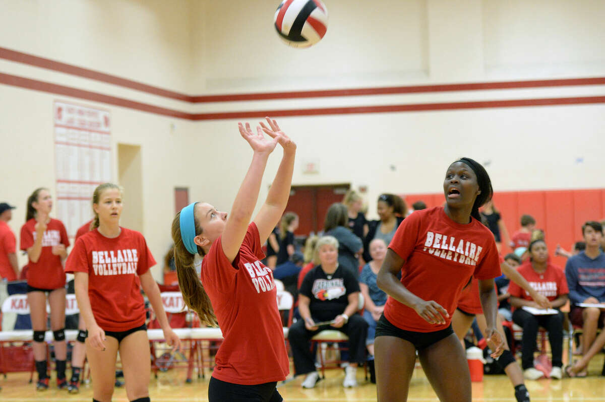 Bellaire opens with Tomball Memorial and Hightower in its pool at the Spring Branch ISD Varsity Volleyball Tournament. The Lady Cardinals are the defending champions. View this and additional photos on HCNPics.com.