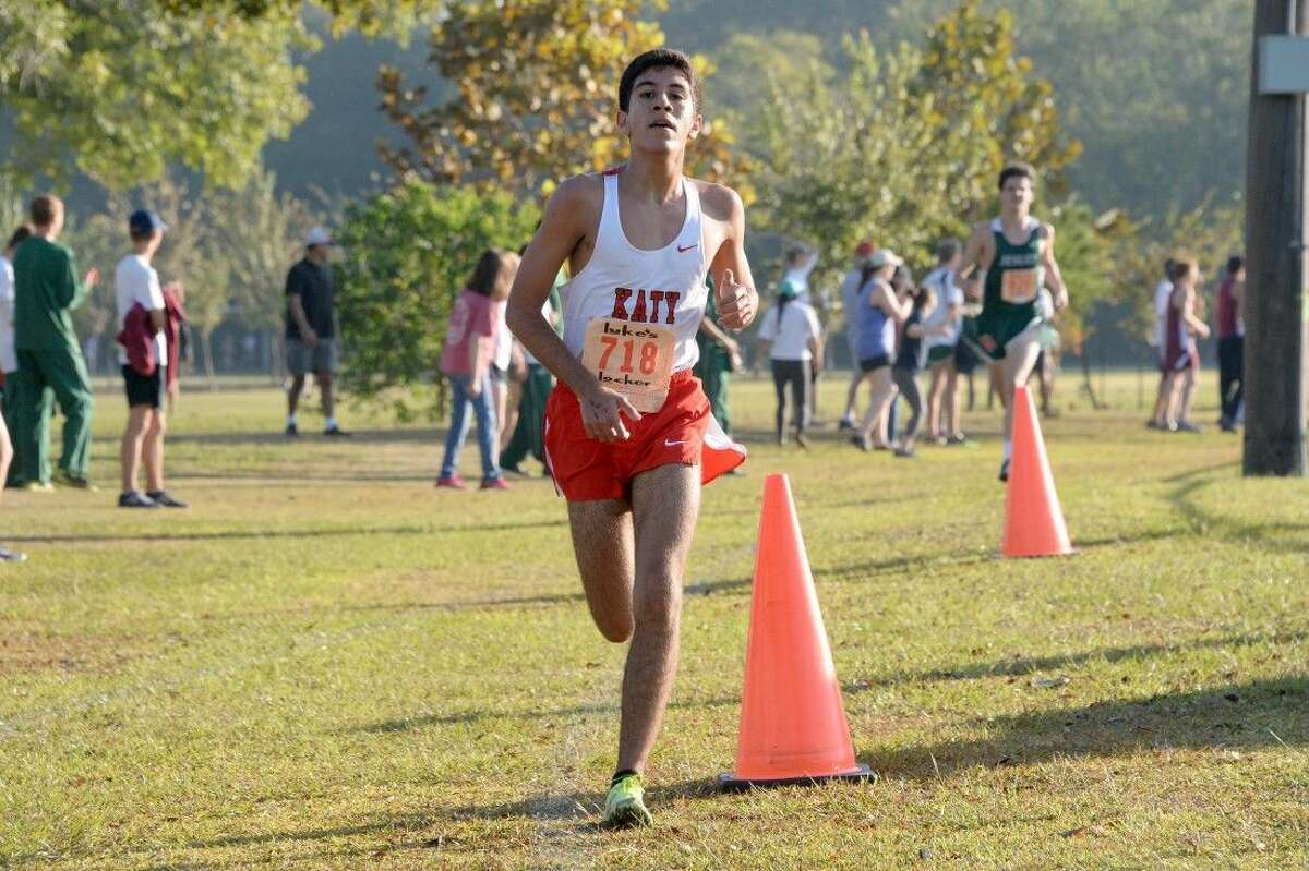 Peter Eskandr finished as the Region III-6A runner-up Oct. 26 at Kate Barr-Ross Park in Huntsville. He led the Tigers to the team regional championship.
