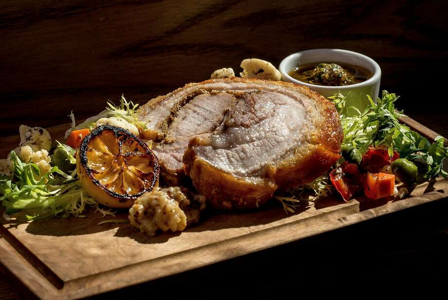 The Porchetta at Barzotto in San Francisco. Photo: John Storey, Special To The Chronicle