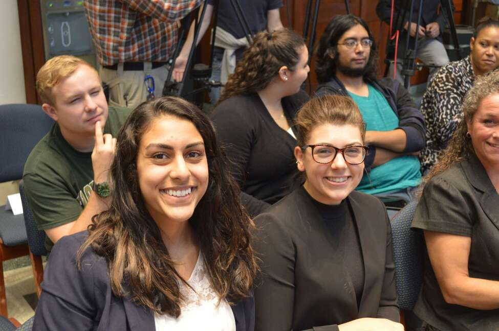 Were you seen discussing ethics in government with U.S. Attorney Preet Bharara, U.S. District Judge Loretta A. Preska, criminal defense attorney E. Stewart Jones Jr, and others at The College of Saint Rose on Thursday Oct. 6, 2016?