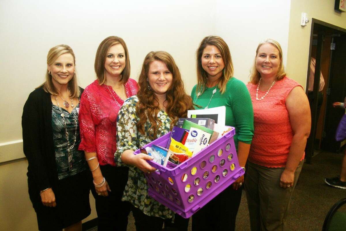 A number of teachers were the recipients of gift prizes handed out during the luncheon. Teachers were treated to a nice lunch by the Chamber on Monday, Aug. 15.