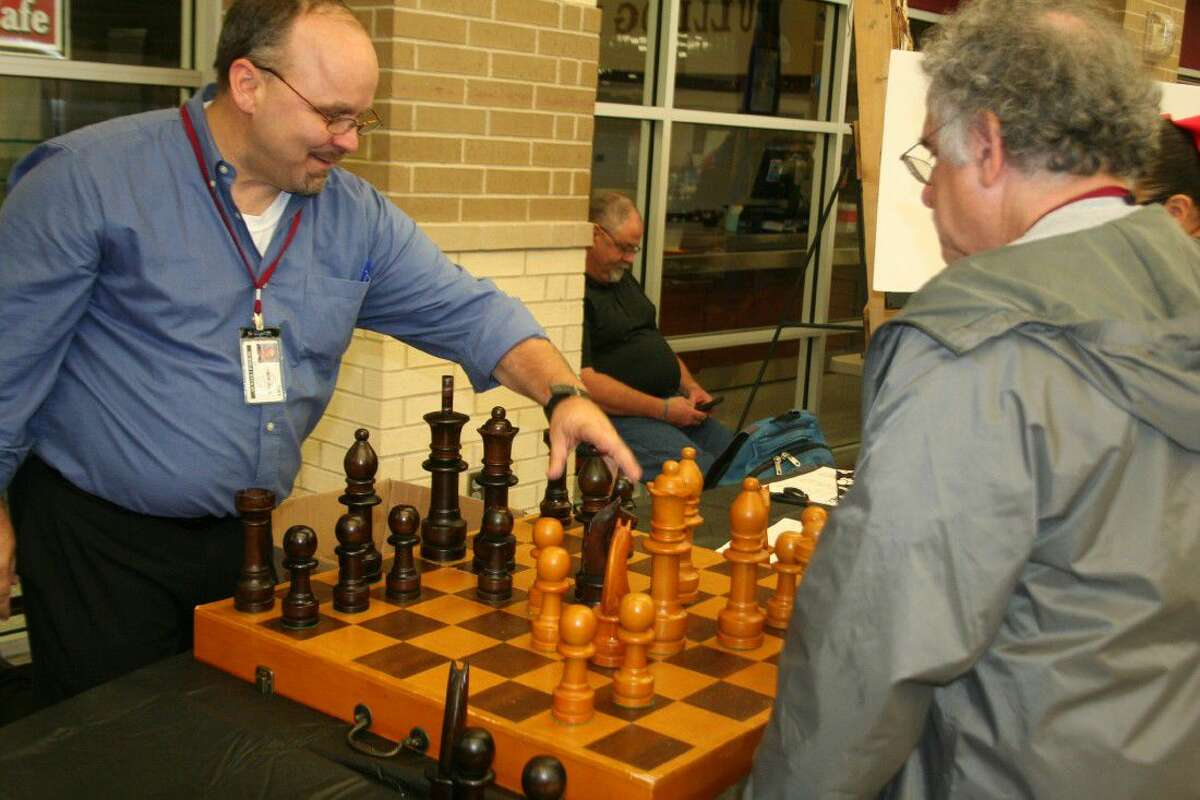 Families had the chance to see all of the different organizations offered such as chess.