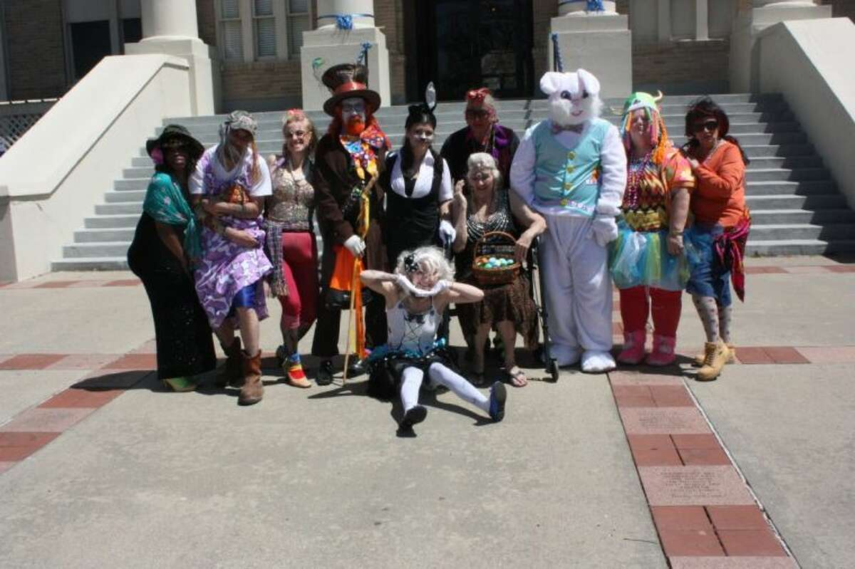 A strange group of displaced characters gathered to Coldspring for March Madness, with bizarre pageant contestants, Alice in Wonderland characters and and a rather early Easter Bunny.