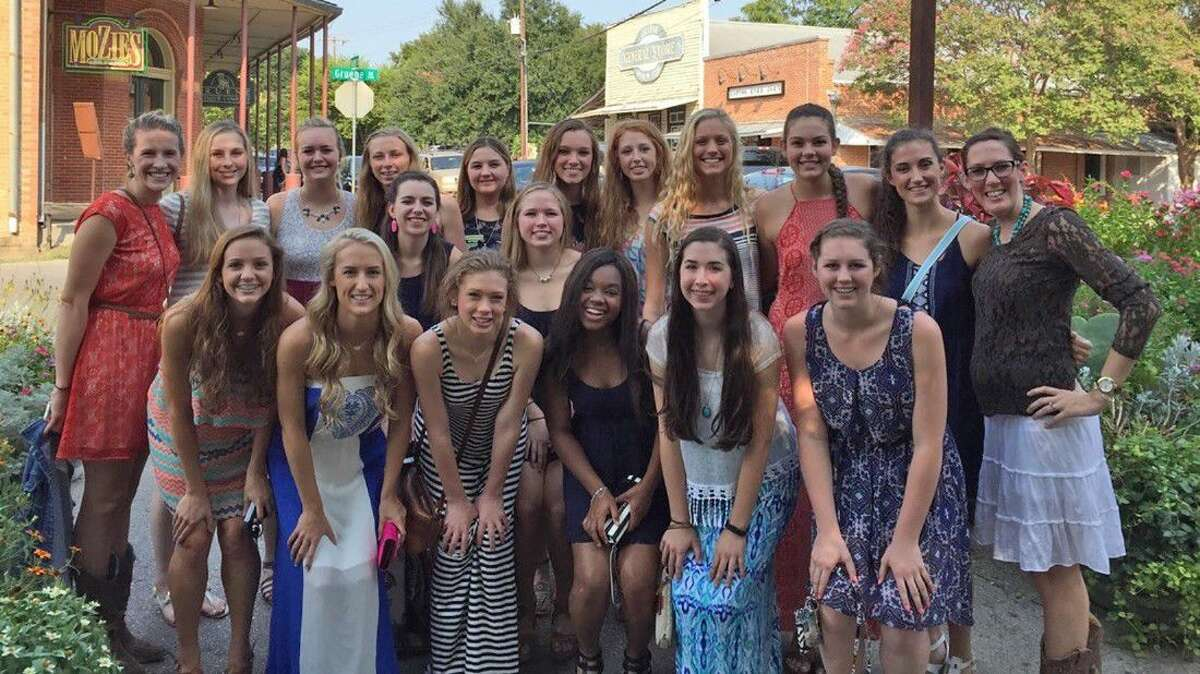 The Cypress Woods High School volleyball team achieved the 2015-2016 AVCA Team Academic Award, honoring teams that have matched their dedication to the sport of volleyball with excellence in the classroom.