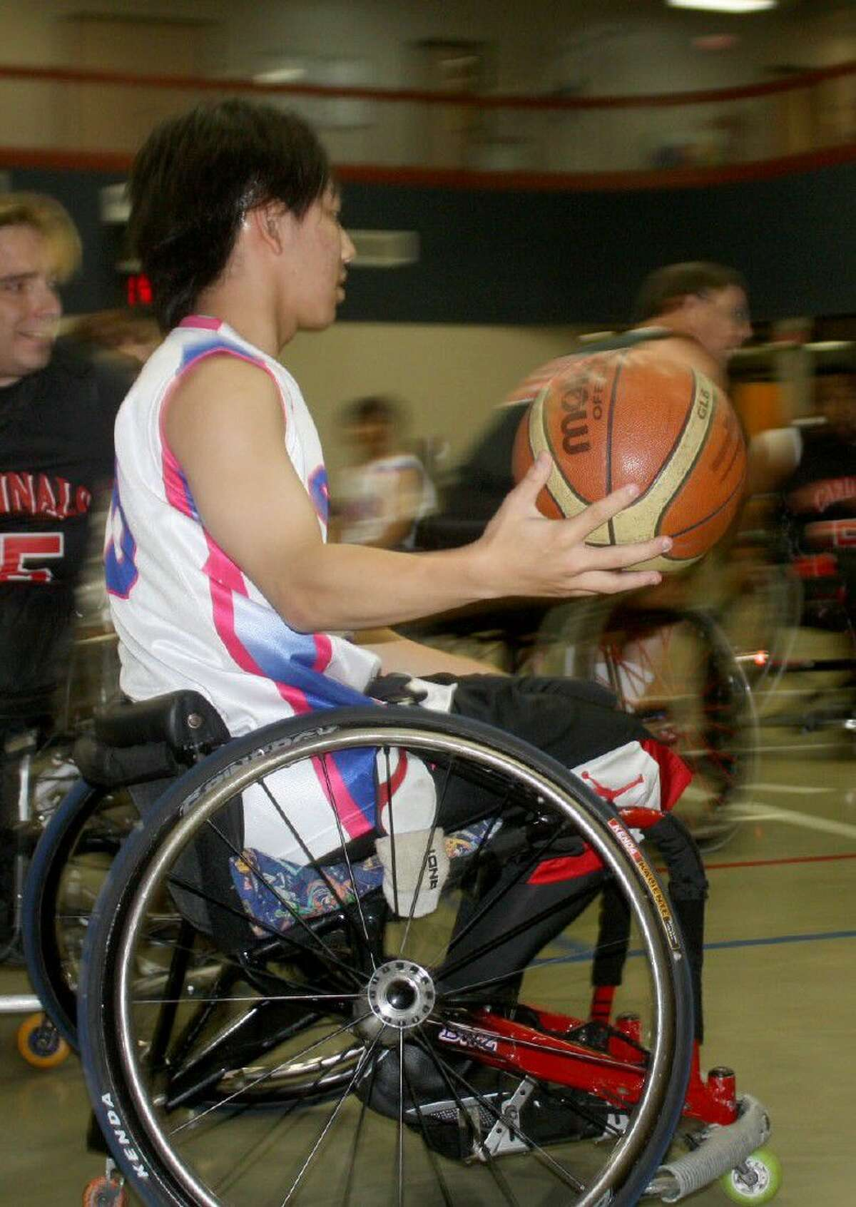There may be only two places on this side of the world that will host wheelchair basketball contests in September. One will be the Paralympics in Rio De Janeiro and the other will be right here in town for the 25th annual Texas International Shootout, set for the Convention Center Sept. 2-4.