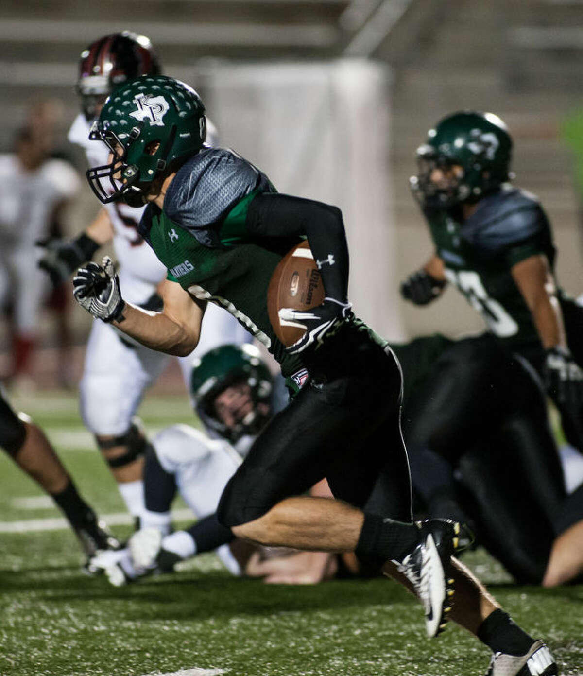 Kingwood Park's Caleb Lewallen is one of six players from the area that will play in the Bayou Bowl on Saturday.