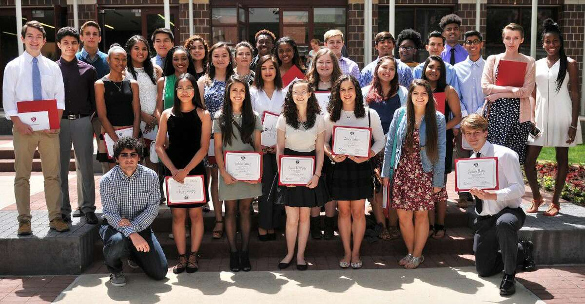 High school juniors are encouraged to apply for Leadership High School, a leadership development and community awareness program for high school leaders in the Lone Star College area. Pictured are Leadership High School participants in 2015-16.