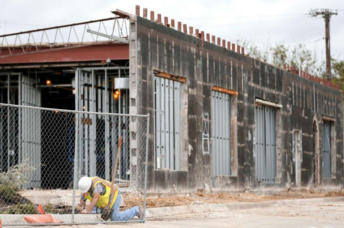 Construction continues on an Emerges emergency room facility Thursday in Dallas.
