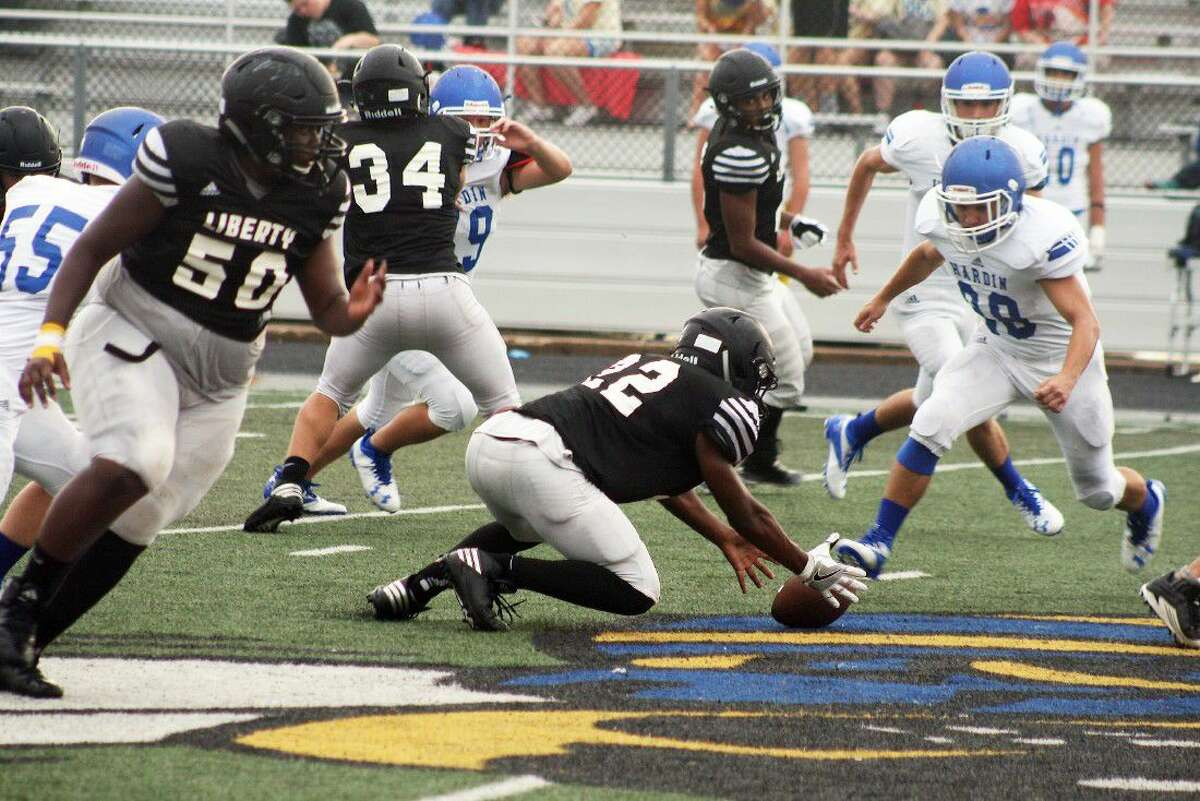 The stingy Panther defense forced several turnovers in their pre-season scrimmage against neighbors Hardin.