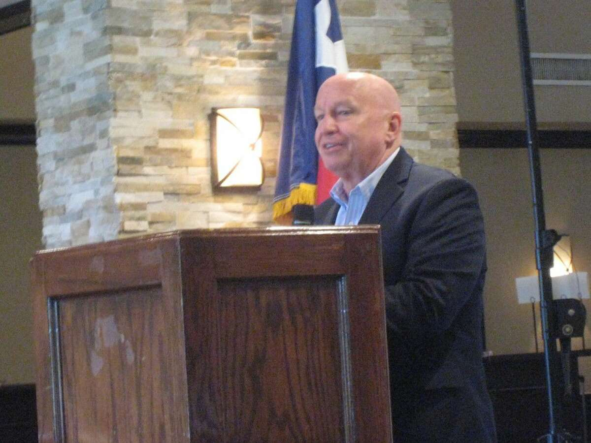 One of the proponents, U.S. Representative Kevin Brady spoke about the tax reform proposal during the Focus on Federal Government luncheon hosted by the Lake Houston Area Chamber of Commerce Thursday.
