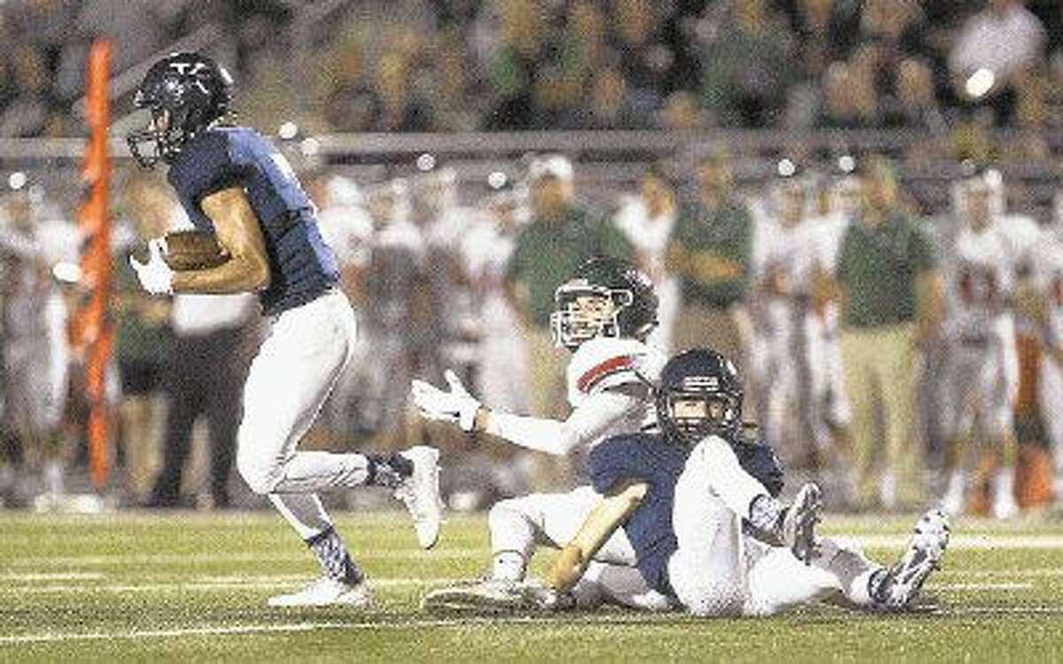 Kingwood's Cole Preston will lead the Mustangs against tough Ridge Point in the season opener at Turner Stadium Friday. To view or purchase this photo and others like it, visit HCNpics.com.