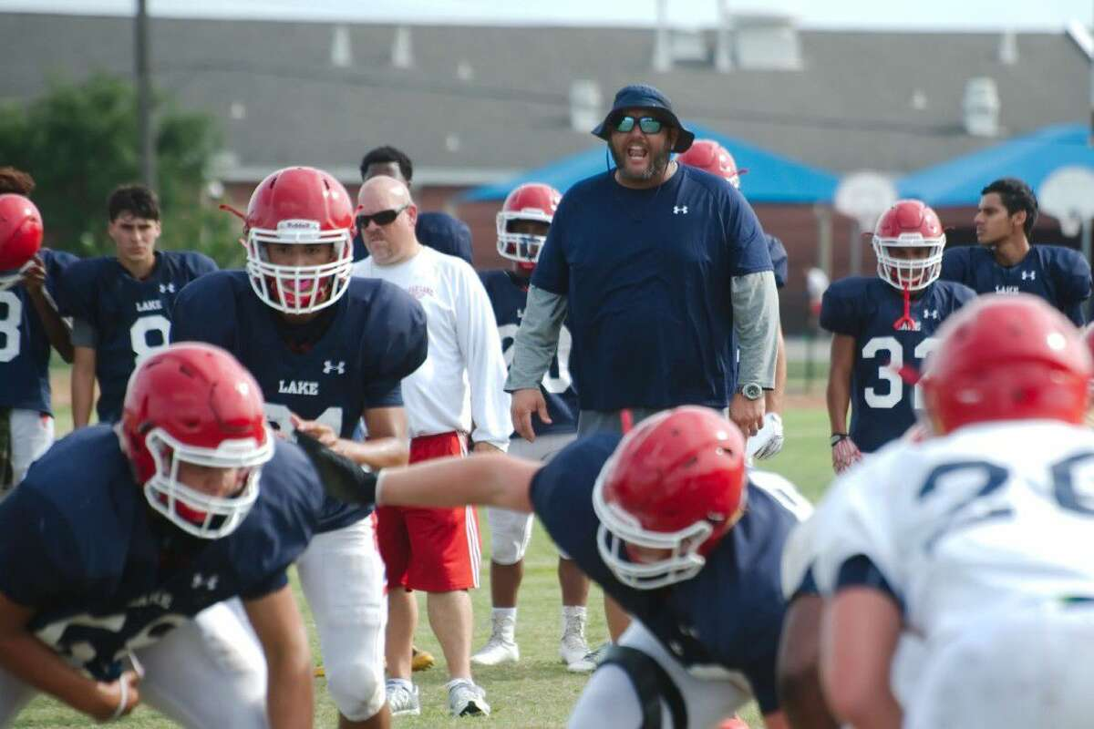 First-year Clear Lake head coach Larry McRae hopes to instill a culture change and a winning attitude with the Falcons.