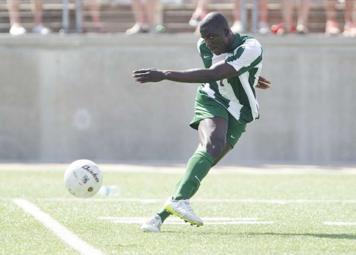 The Woodlands junior Bubacarr Jobe scored 28 goals this season.
