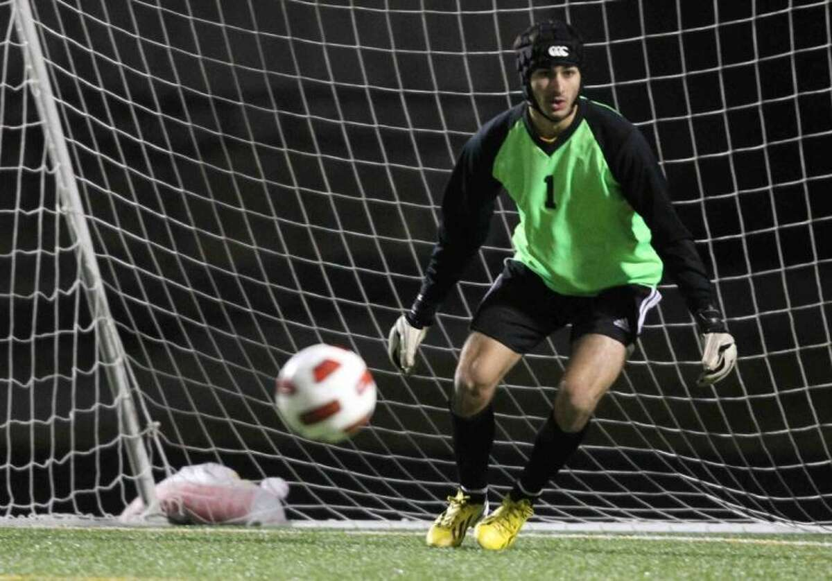 Conroe goalkeeper Collin Smidt helped the Tigers reach the regional tournament for the first time since 1997.