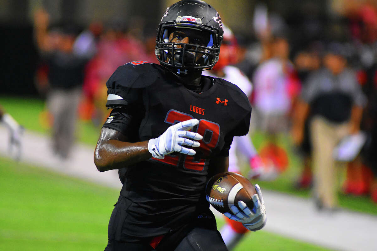 Langham Creek senior running back Toneil Carter posted his second consecutive 100-yard game of the season, carrying the ball nine times for 154 yards and four touchdowns.