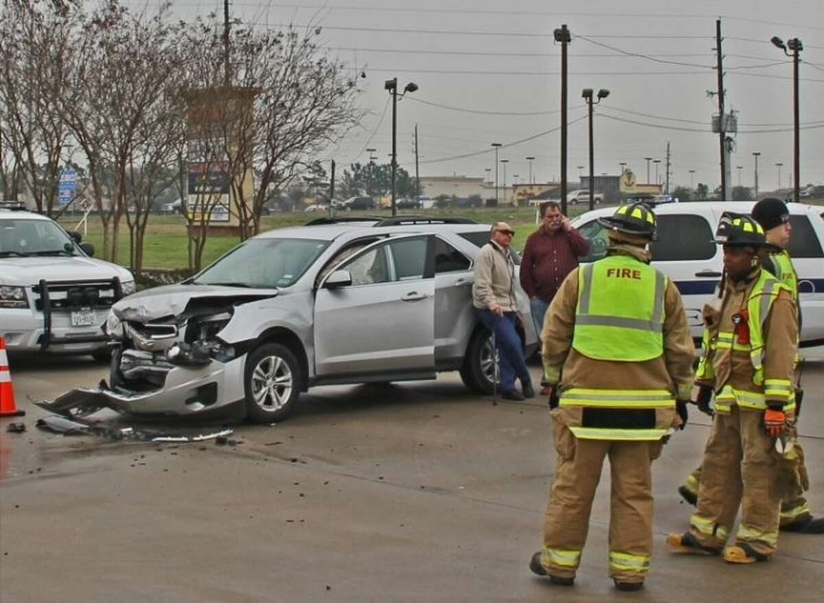 Pearland EMS workers and fire fighters responded to a two-car accident on Memorial Hermann Drive near SH 288 Wednesday (March 5).