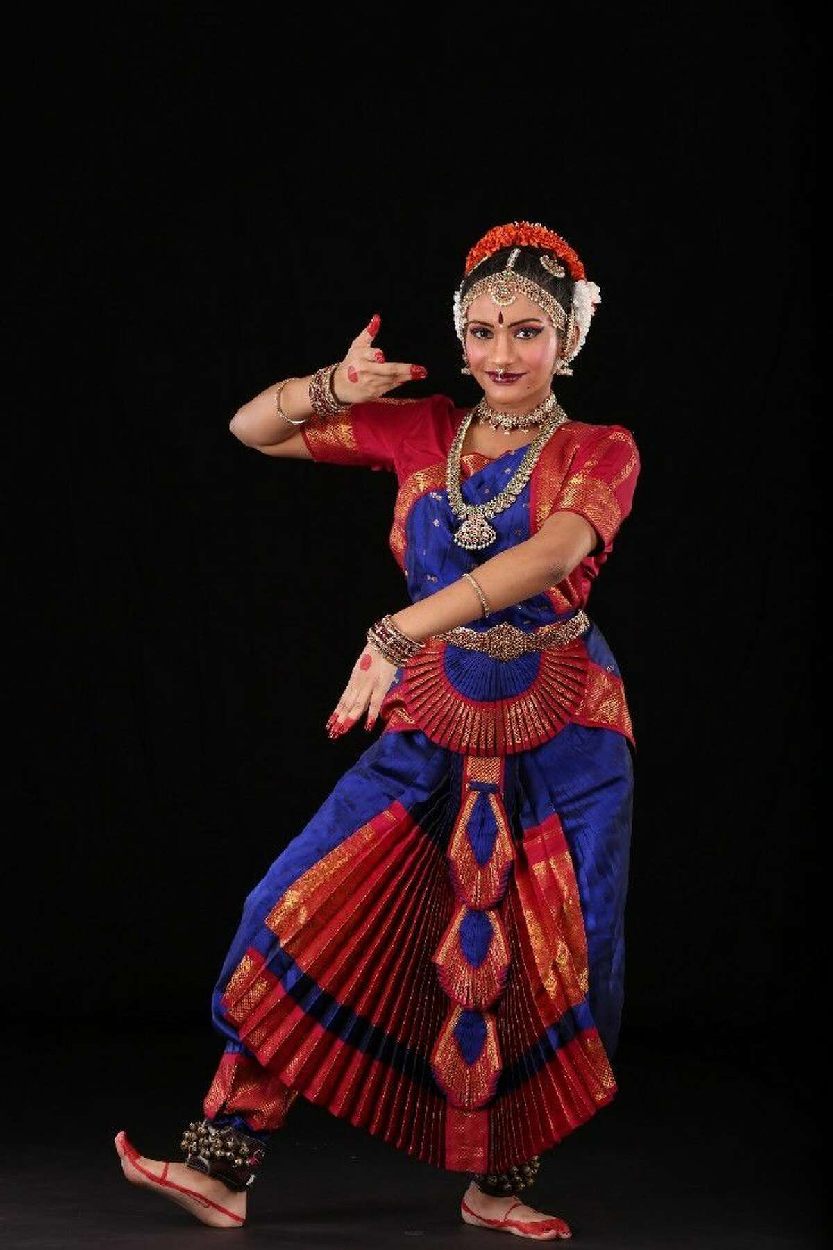 Neha Bhat, 16, presented her Arangetram, her first formal solo of Bharatnatyam, (the Indian classical dance) performance at the Berry Center Theater on July 23.