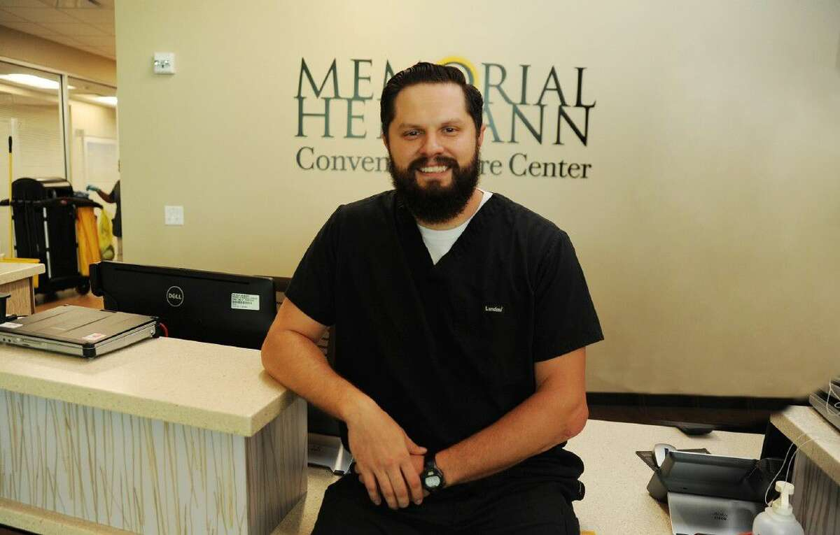 Andrew Casarez, a nurse in the emergency department of the Memorial Hermann Convenient Care Center in Cypress, believes that had he not had the help of Life Flight, he might not be living to tell his story of survival today.