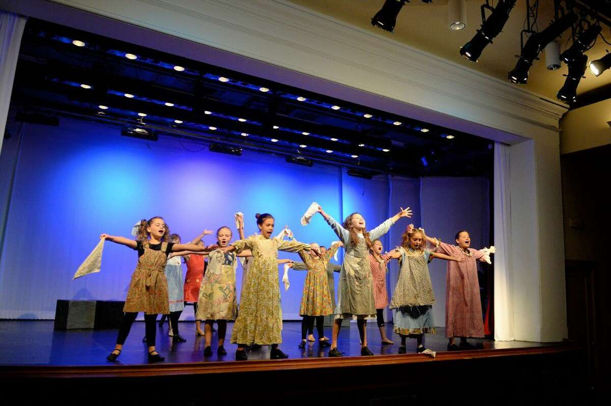 Fort Bend Independent School District go through a dress rehearsal of