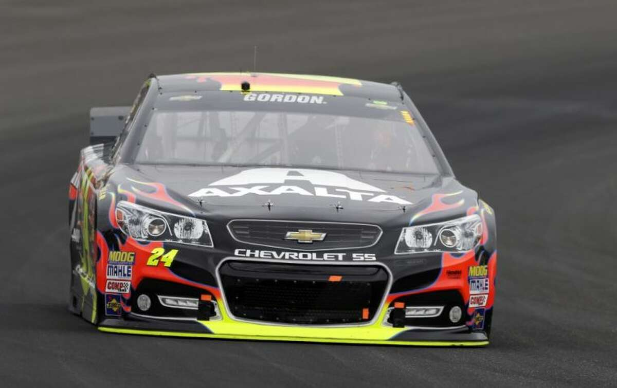 Jeff Gordon earned his fifth victory in the Brickyard 400 on Sunday.
