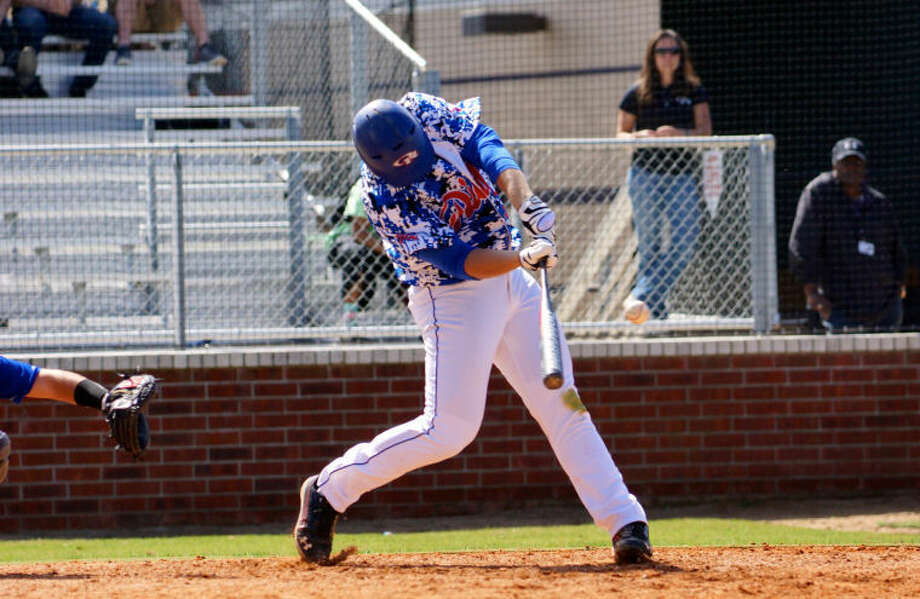 Oak Ridge's Luken Baker has eight hits in 11 at-bats so far this season. Photo: Courtesy Photo By Ted Bell