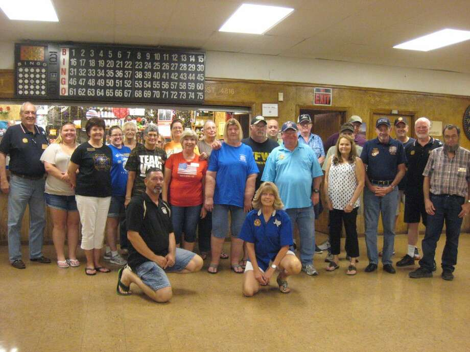 Piney Woods VFW Post 4816 members and auxiliary members hosted a Salute to Law Enforcement Saturday, Sept. 3 at their location in Porter.