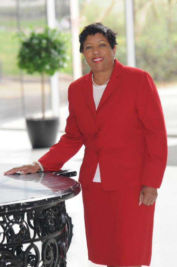 Evelyn Peters Dean is the newly elected president of Suburban Houston - Fort Bend Alumnae Chapter of Delta Sigma Theta Sorority Inc.