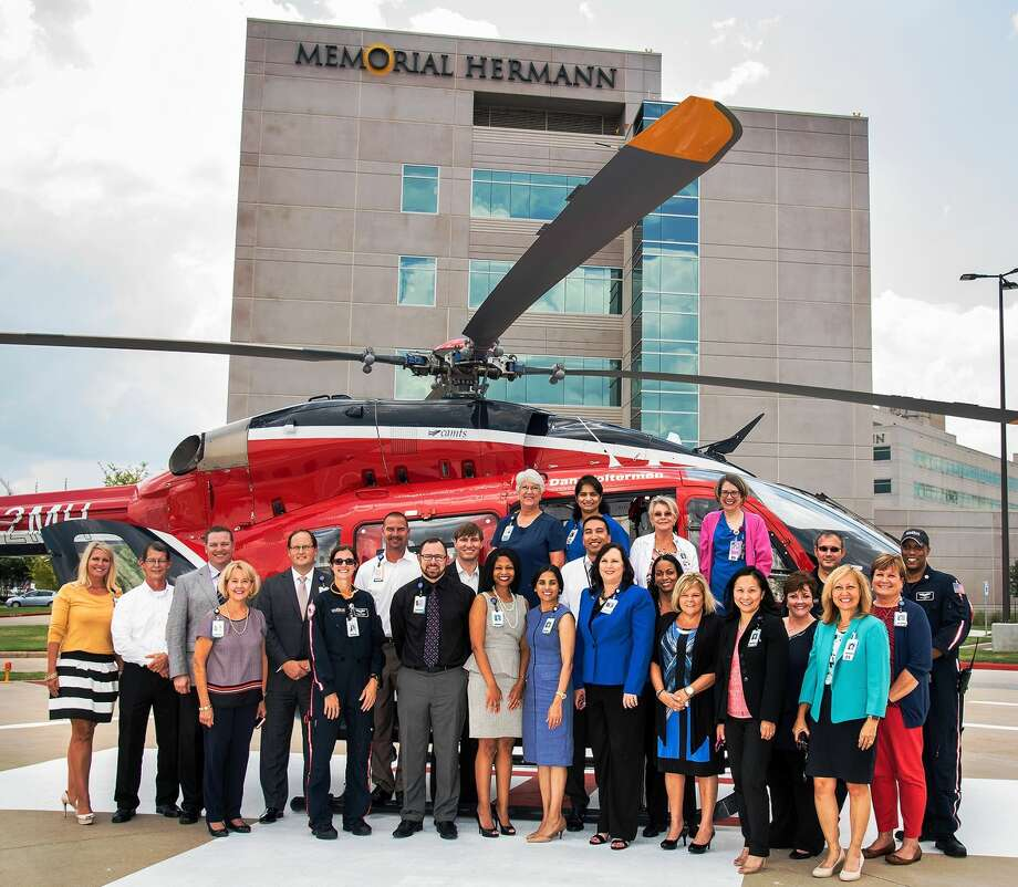 The Memorial Hermann Sugar Land Hospital team joined Life Flight crew members on the helipad for an exclusive look inside the aircraft.