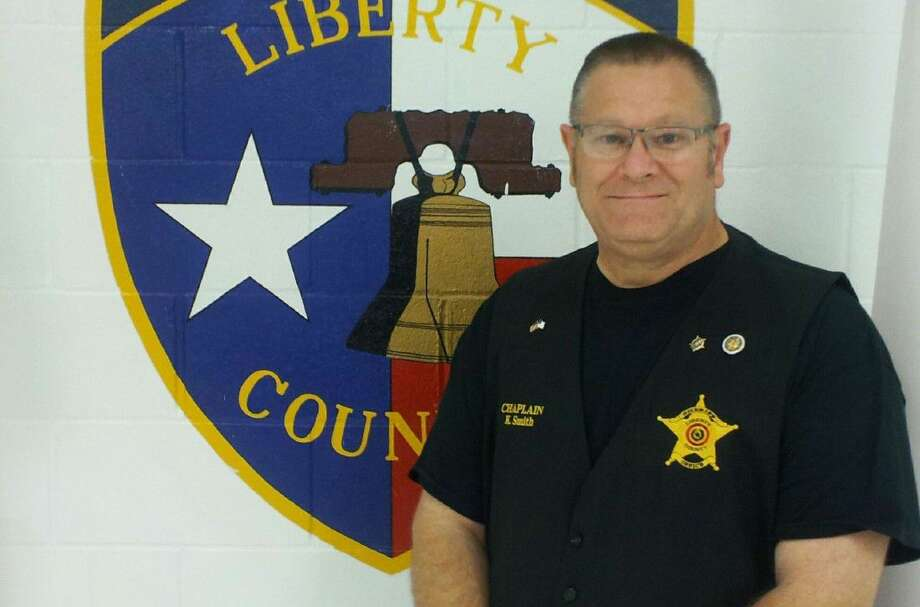 Faith Tabernacle pastor Ken Smith is a volunteer chaplain for the Liberty County Sheriff's Office. Though he isn't an employee, he was still honored to be selected as the Employee of the Month for September. Photo: Submitted