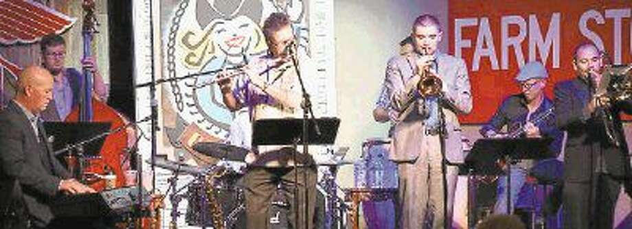Joe Burlison's Uptown Jazz group performs the first Monday of each month in a First Monday Java Jazz segment at Dosey Doe Music Café, 463 FM 1488, Conroe.