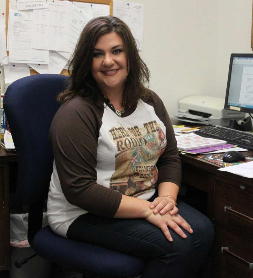 Jaime Padgett is the new co-librarian for the Coldspring Area Public Library as of Aug. 23. She is replacing Suzanne Locke and will be working alongside Co-Librarian Barbara Ponter. Photo: Jacob McAdams