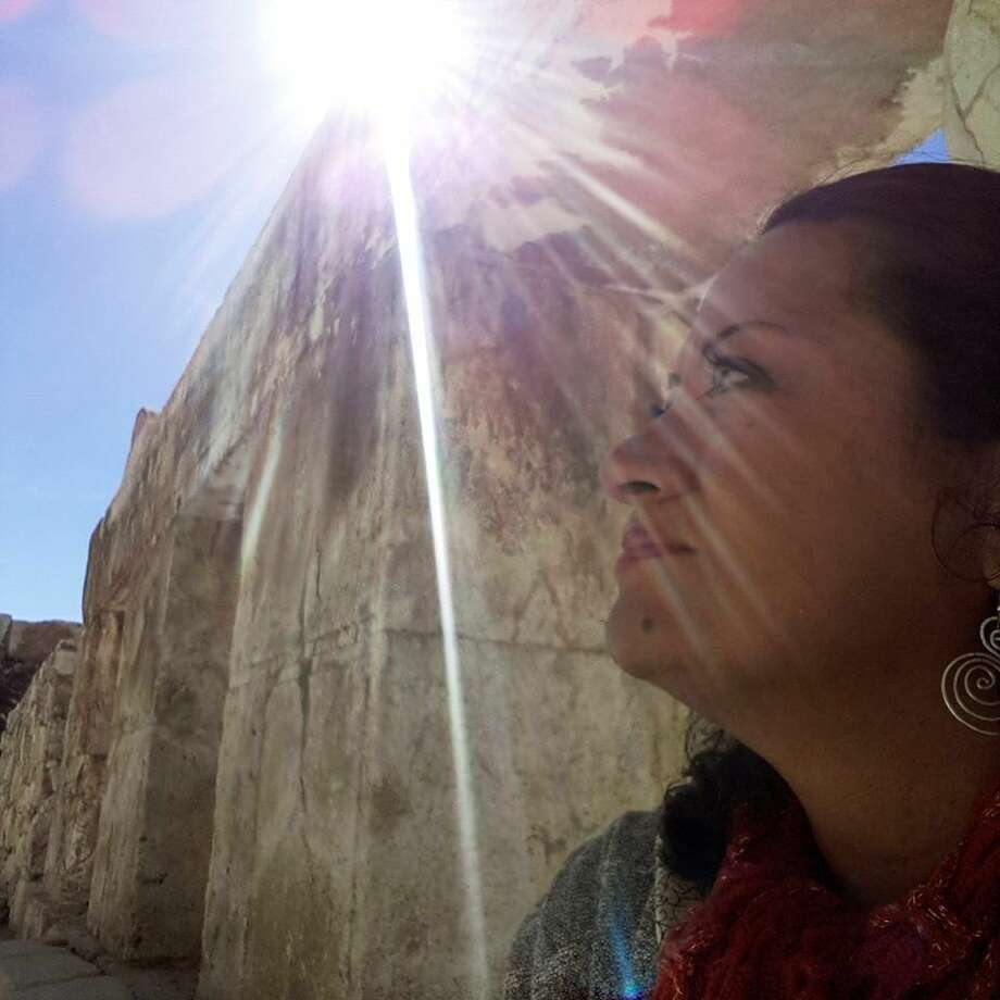 Maria Baños Jordan, president and founder of the Texas Familias Council in Conroe, recently returned from the Holy Land. Jordan said the trip affirmed her personal commitment to family and community.