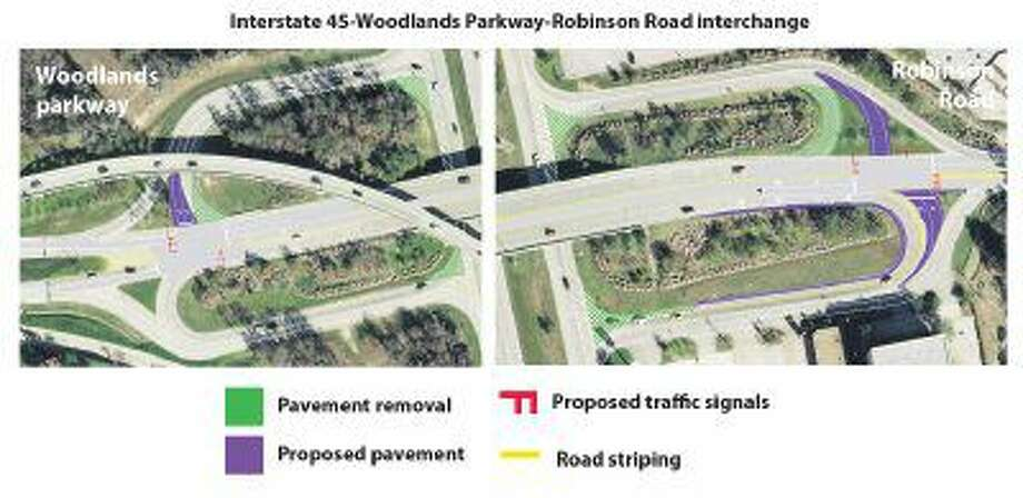 $2.8M project to help traffic at I-45, Robinson Road