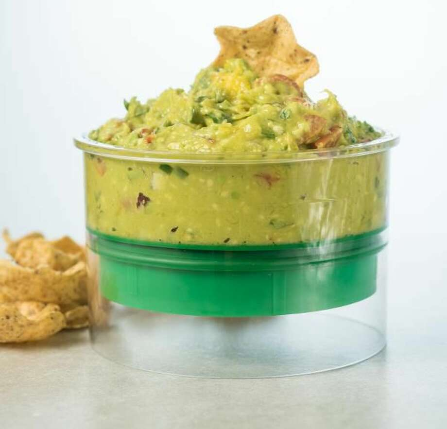 Making guacamole? Keep it fresh with a container designed to seal in air.