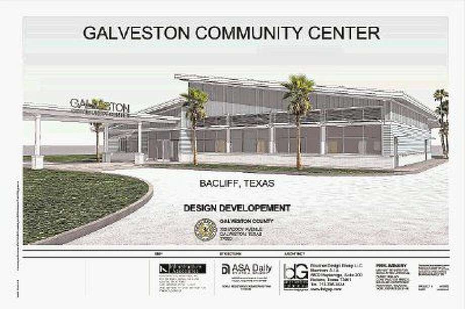 Galveston County is planning a community center to serve the communities of Bacliff and San Leon. Photo: Courtesy Galveston County