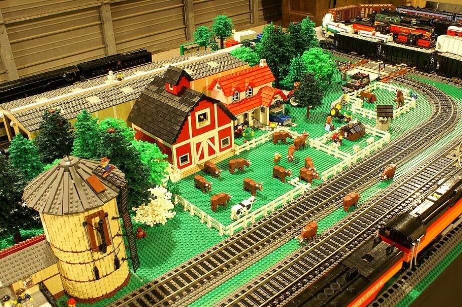 "The Rosenberg Railroad Museum's annual Fall Fun Fest will be Sept. 17. This year's theme is ""Brick-A-Palooza"" and will feature the Lego Brick Train World of Texas Brick Railroad and a Texas Lego Users Group monorail exhibit, plus hands-on brick stations for kids to gather, build and have fun. Photo: Rosenberg Railroad Museum"
