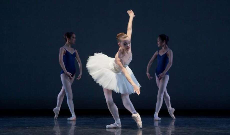 The dancer is Mallory Mehaffey. Photo: Photo By Amitava Sarkar