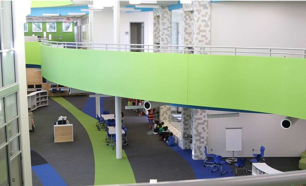 At Condit Replacement Elementary, Another Theme The Design Team Was  Inspired By Was The Shape