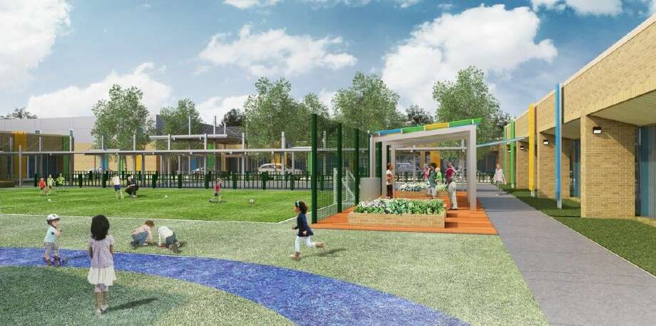 The Awty International School, Houston is building an early learning campus at 1110 N. Post Oak. Photo: The Awty International School