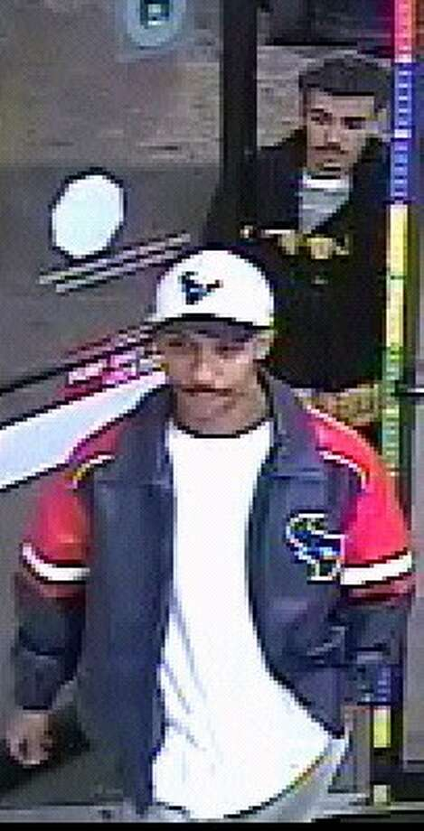 Houston police are seeking these two suspects in a Dec. 17 robbery at a West Bellfort convenience store.